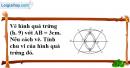 Bài 58 trang 110 SBT toán 9 tập 2