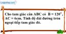 Bài 60 trang 110 SBT toán 9 tập 2