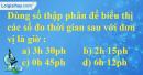 Bài 122 trang 34 SBT toán 6 tập 2