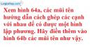 Bài 4 trang 113 Vở bài tập toán 8 tập 2