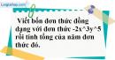 Bài 4.1, 4.2 phần bài tập bổ sung trang 22 SBT toán 7 tập 2