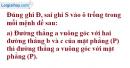 Phần câu hỏi bài 3 trang 117 Vở bài tập toán 8 tập 2