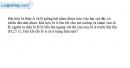 Bài 27.1 trang 74 SBT Vật lí 8