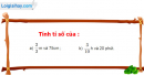 Bài 87 trang 76 Vở bài tập toán 6 tập 2