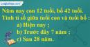 Bài 138 trang 37 SBT toán 6 tập 2