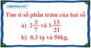 Bài 139 trang 37 SBT toán 6 tập 2