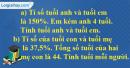 Bài 146 trang 39 SBT toán 6 tập 2