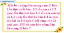 Bài 156 trang 40 SBT toán 6 tập 2