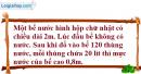 Bài 12 trang 119 Vở bài tập toán 8 tập 2