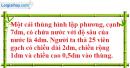 Bài 13 trang 120 Vở bài tập toán 8 tập 2