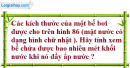 Bài 23 trang 128 Vở bài tập toán 8 tập 2