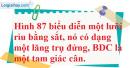 Bài 25 trang 129 Vở bài tập toán 8 tập 2