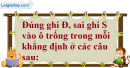Phần câu hỏi bài 7 trang 130 Vở bài tập toán 8 tập 2