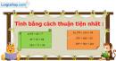 B. Hoạt động thực hành - Bài 20 : Biểu thức có chứa ba chữ. Tính chất kết hợp của phép cộng