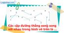C. Hoạt động ứng dụng - Bài 26 : Hai đường thẳng song song