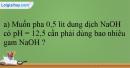 Bài 25.17 trang 57 SBT Hóa học 12