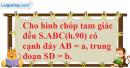Phần câu hỏi bài 8 trang 132 Vở bài tập toán 8 tập 2