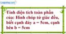 Bài 36 trang 138 Vở bài tập toán 8 tập 2