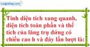 Bài 38 trang 140 Vở bài tập toán 8 tập 2