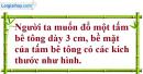Bài 40 trang 142 Vở bài tập toán 8 tập 2