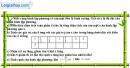Bài 1 trang 46 SBT toán 9 tập 2