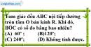 Bài III.10 phần bài tập bổ sung trang 116 SBT toán 9 tập 2