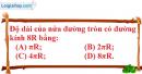 Bài III.7 phần bài tập bổ sung trang 116 SBT toán 9 tập 2
