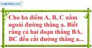 Bài 1 trang 80 SBT toán 6 tập 2