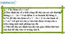 Bài 11 trang 49 SBT toán 9 tập 2