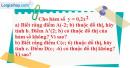 Bài 9 trang 48 SBT toán 9 tập 2