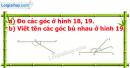 Bài 19 trang 105 Vở bài tập toán 6 tập 2