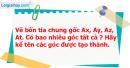 Bài 10 trang 99 Vở bài tập toán 6 tập 2