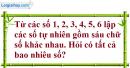 Bài 1 trang 54 SGK Đại số và Giải tích 11