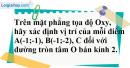 Bài 4 trang 100 SGK Toán 9 tập 1