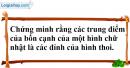 Bài 75 trang 106 sgk toán 8 tập 1
