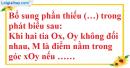 Bài 9 trang 82 SBT toán 6 tập 2