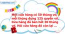 B. Hoạt động thực hành - Bài 37 : Nhân một số với một tổng. Nhân một số với một hiệu