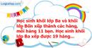 B. Hoạt động thực hành - Bài 40 : Giới thiệu nhân nhẩm số có hai chữ số với 11