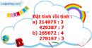 B. Hoạt động thực hành - Bài 44 : Chia cho số có một chữ số