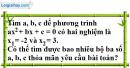 Bài 3.4 phần bài tập bổ sung trang 53 SBT toán 9 tập 2