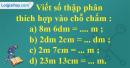 Bài 1 trang 44 sgk Toán 5