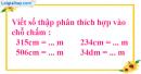 Bài 2 trang 45 sgk Toán 5