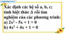 Bài 20 trang 53 SBT toán 9 tập 2