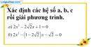 Bài 21 trang 53 SBT toán 9 tập 2