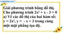 Bài 22 trang 53 SBT toán 9 tập 2