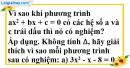 Bài 4.1, 4.2, 4.3, 4.4 phần bài tập bổ sung trang 54, 55 SBT toán 9 tập 2