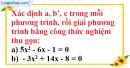 Bài 27 trang 55 SBT toán 9 tập 2