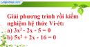 Bài 35 trang 57 SBT toán 9 tập 2