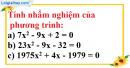 Bài 37 trang 57 SBT toán 9 tập 2