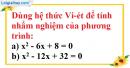 Bài 38 trang 57 SBT toán 9 tập 2
